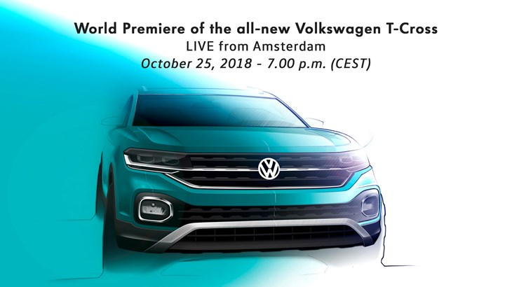 World Premiere of the new T-Cross – live from Amsterdam