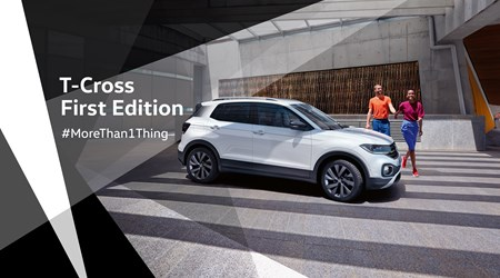 T-Cross First Edition: Il nuovo City SUV Volkswagen!