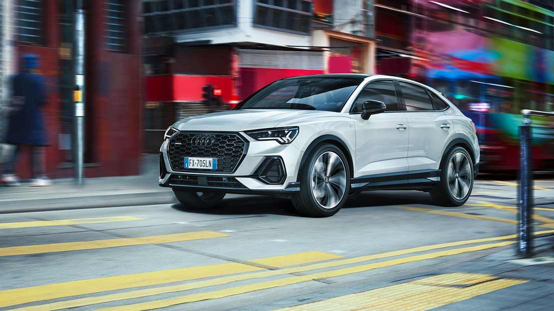 Nuova Audi Q3 Sportback. URBAN / whatever that means.