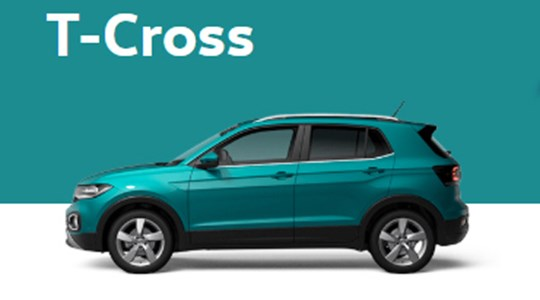 T-Cross 1.0 TSI Urban 95 CV con Tech Pack